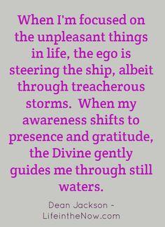 Presence and gratitude