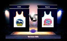 ALBA-Bayern Nov 5 2017 German BBL Will ALBA be able to beat the Bayern team in an home match ALBA-Bayern Nov 5 2017 ? In the previous 10 performances Bayern has won 9 games while In the past 10 games ALBA scored 1 checkmates.   #ALBA #ALBA_Berlin #basketball #Bayern #Bayern_Munich #bet #Braydon_Hobbs #Dennis_Clifford #forecast #German_BBL #Jared_Cunningham #Luke_Sikma #Maik_Zirbes #Marius_Grigonis #Milan_Macvan #Niels_Giffey #Nov_5__2017 #Peyton_Siva #predict #Reggie_Redd