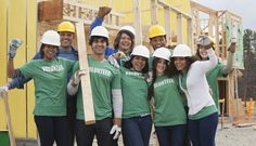Volunteers working on construction site by Gable Denims on 500px