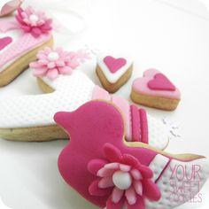 Baby Girl Cookies http://instagram.com/yoursweetcookiess