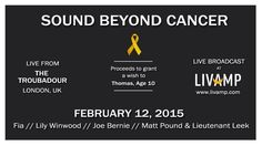 Tmrw: support a great cause / tune into a great show on http://livamp.com  Londoners, see you at @TroubadourLDN