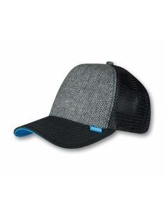 6300055b608 Djinn s Tweed Combo Trucker Cap black Tweed