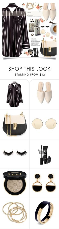 """""""save the dress"""" by heyra on Polyvore featuring Boohoo, Chloé, Victoria Beckham, Gucci, Warehouse, ABS by Allen Schwartz, Marni and under100"""