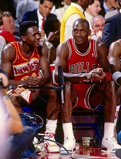 Michael Jordan & Dominique Wilkins My 2 favorite players who attacked the rim, game and life! Thanks for all the highlights!