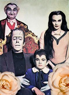 After a full day of family history research, I think I am related to the Munsters.