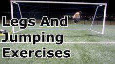 Goalkeeper Training: Leg and jumping workout Fun Soccer Drills, Soccer Training Drills, Soccer Goalie, Soccer Workouts, Soccer Practice, Soccer Skills, Soccer Coaching, Soccer Tips, Agility Training