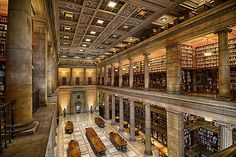 """A """"Libraries Are Beautiful"""" photo contest seems made for the James J. Hill Center, which shares a building with the St. Paul Central Library..."""
