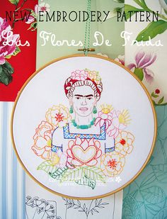 Patterns: Las Flores de Frida