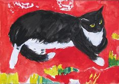 Cat   on   a   Rug               1969             Elizabeth    BLACKADDER Scottish,          oil     on     canvas