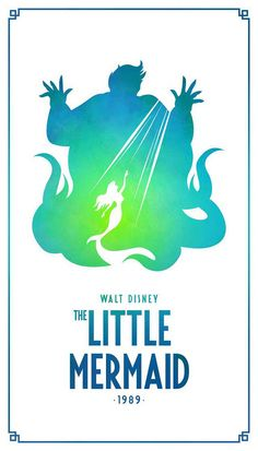 Wall Paper Disney Villains The Little Mermaid 63 Ideas Disney Kunst, Arte Disney, Disney Magic, Disney Art, Minimalista Disney, Poster Minimalista, Disney Movie Posters, Film Disney, Images Disney