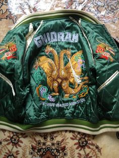 THE REAL McCOYS SOUVENIR JACKET 「Ghidorah」 BOUKENOU GODZILLA #Fashion #Style #Deal