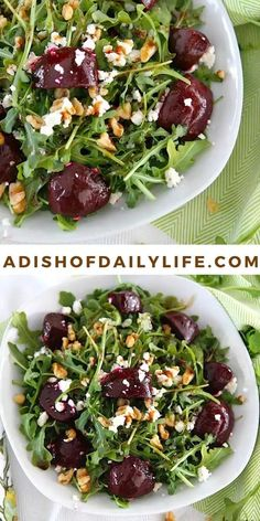 Whole Foods, Whole Food Recipes, Cooking Recipes, Vegetable Recipes, Vegetarian Recipes, Healthy Recipes, Easy Salads, Summer Salads, Beet Goat Cheese Salad