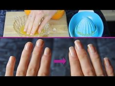 She Soaked Her Nails In Orange Juice And Garlic For 2 Weeks – The Outcome? Crazy! : LittleThings.com – Amazing Videos, Stories and News from around the world. It's the little things in life that matter the most!