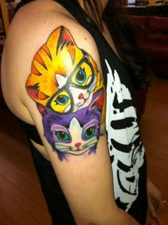 Lisa Frank tattoo!