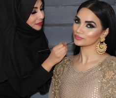 I've always had a crazy love for painting faces whether it's on set making up my gorgeous models/celebrities/actresses or making up my stunning real brides for the biggest day of there lives. It's always been a passion. I can work 7 days a week 20 hours without even realising. #SevereAddiction   Alhamdullilah blessings when you have an insane passion & love for what you do.  Coming from a background in Law  7 years ago I decided to go into what I had loved most #MakeUp and I haven't looked…