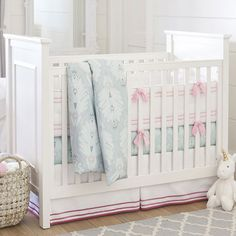 Create your dream nursery for your baby girl with Pottery Barn Kids' baby girl bedding. Shop baby girl crib bedding that will add style to your nursery. Pottery Barn Kids, Pottery Barn Nursery, Mattress Sets, Crib Mattress, Girl Nursery Bedding, Crib Bedding, Girl Cribs, Baby Cribs, Nursery Furniture
