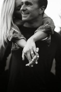 Black and white ring shot ~ we ❤ this! moncheribridals.com