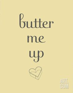 Butter. Print from Art.com, $6.99