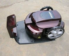 Robotic Lawnmower....any kind is neat but honestly I still think I like the riding lawnmowers those are fun! but these are cool for smaller lawns.