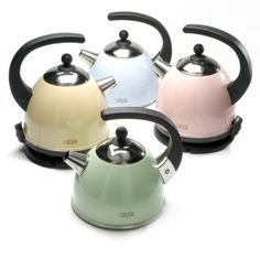 La Cafetiere Stove Top Kettle. Green one