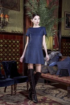 69c483b7dd4f Little blue dress by  alice olivia available with  Free2DayShipping for   shoprunner members Casual Clothes