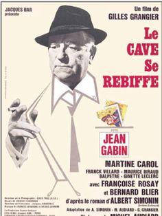 Le cave se rebiffe est un film français réalisé par Gilles Grangier et dialogué par Michel Audiard, sorti en 1961. Le personnage de Max le Menteur disparaît dans l'adaptation cinématographique de l'œuvre de Simonin, mais la trame de cette histoire de faux-monnayeurs, et les personnages centraux du « Dabe » et du « Cave » restent identiques. Dans le film de Gilles Grangier, Charles Lepicard (Bernard Blier), Maître Lucas Malvoisie (Antoine Balpêtré) et Éric Masson (Franck Villard) veulent...