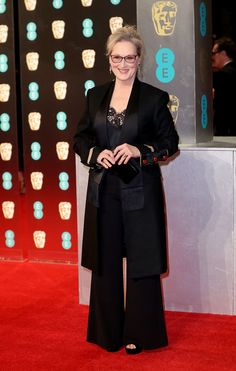 (Mike Marsland/Mike Marsland/WireImage) Baftas 2017 Red Carpet: London England Feb 12-Meryl Streep attends the 70th EE British Academy Film Awards (BAFTA) at Royal Albert Hall