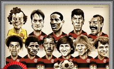 bestfootbalteams_Flamengo Caricaturas