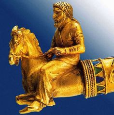 Gold Torque Ending in Scythian Riders. 400-350 BC Kul Oba Barrow, Bosporan Kingdom, Kerch. State Hermitage Museum, St. Peterburg.