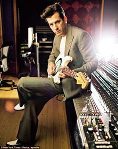 ''I'd lost an inch off my hairline because I was so worried, and I knew the only thing that was missing was my guitar part,' said Mark Ronson on Uptown Funk, the song he made with Bruno Mars in 2014