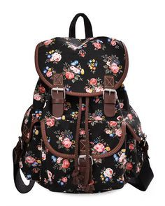 e655a343d27e Lightweight Backpack for Teen Young Girls Cute Backpack Print Rucksack