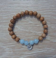 aromatic sandalwood bracelet  yoga by the sea  by beachcombershop, $20.00