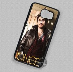 Colin O'Donoghue Once Upon A Time Captain Hook - Samsung Galaxy S7 S6 S5 Note 7 Cases & Covers