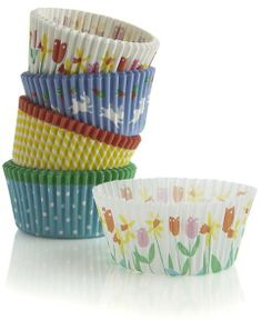 Crate & Barrel Set of 100 Easter Cupcake Papers on shopstyle.com