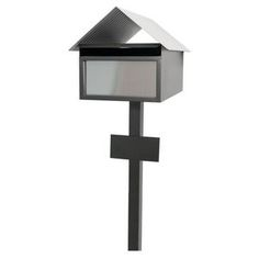 Scope Living Avalon Letterbox Stainless Steel Stone