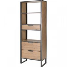 Tall Cabinet Storage, Bookcase, Shelves, Living Room, Olaf, Furniture, Industrial, Home Decor, Modern