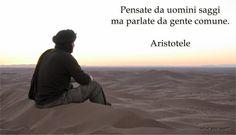 Un po di tutto e tutto di un po: Aristotele
