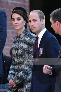 hrhduchesskate:  100th Anniversary of the Battle of the Somme, Thipeval Memorial, France, June 30, 2016-Duke and Duchess of Cambridge