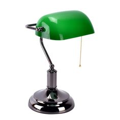Model:Traditional Green Glass Shade Bankers LampDimensionsDiameter Metal+GlassColor: Gold,Silver(As picture shows);Weight: about Assembly is necessaryLight Bulb: x 1 ( Price doesn't include light High quality and Brand new; Green Library, Desk Lamp, Table Lamp, Bankers Lamp, Victorian Homes, Shades Of Green, Libraries, Glass Shades, Light Bulb