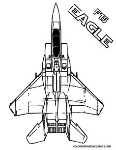 F 15 Eagle Air Force Airplane Mach 25 You Can Print Out This ColoringPage For Boys