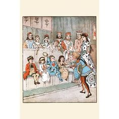 """'The Knave of Hearts Brought Back Those Tarts' by Randolph Caldecott Painting Print Size: 36"""" H x 24"""" W by Wayfair"""
