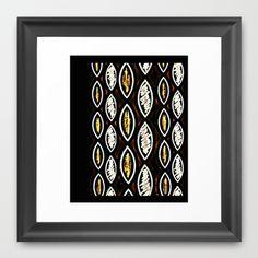 #Pattern Two #Framed #abstract #Art #Print by #Jensen Merréll