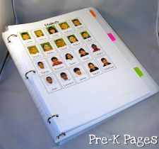 Include a picture list of students in your substitute folder. www.pre-kpages.com/substitute-teachers/