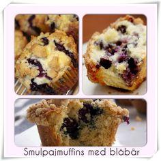 Smulpajmuffins med blåbär | Niiinis