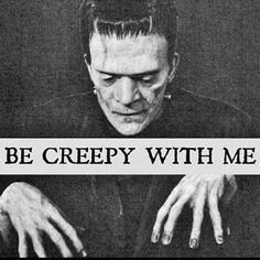 Image uploaded by Amy Melampy. Find images and videos about Halloween, creepy and Frankenstein on We Heart It - the app to get lost in what you love. Halloween Horror, Halloween Art, Holidays Halloween, Vintage Halloween, Halloween Quotes, Halloween Halloween, Halloween Decorations, Halloween Costumes, Horror Art