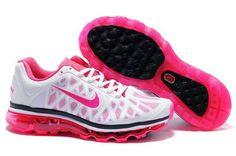Nike Air Max+ 2011 - Women's - Running - Shoes - Black/Cherry
