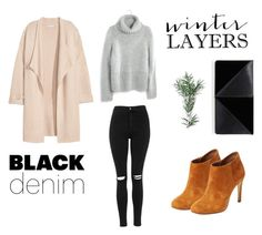 """""""it's hella cold here"""" by bellatr on Polyvore featuring Kofta, Madewell, Topshop, Elorie, UN United Nude, women's clothing, women's fashion, women, female and woman"""
