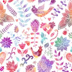 One watercolor story by Pridumala , via Behance