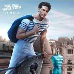 Jean Paul Gaultier Unveils New Le Male Fragrance Campaign Parfum Dior, Armani Parfum, Best Perfume For Men, Best Fragrance For Men, Best Fragrances, Jean Paul Gaultier, Parfum Le Male, Parfum Cerruti, Coco Mademoiselle Parfum
