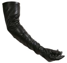 Genuine Lambskin Leather Over the Elbow Extra Long Opera Party Evening Gloves  #Ownbrand #EveningGloves